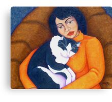 Morgana with Woman  Canvas Print
