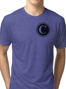 Circle Monogram C Tri-blend T-Shirt