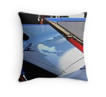 Twin Fins Throw Pillow