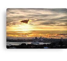 'Pacific Dawn' P&O Cruises Australia Canvas Print