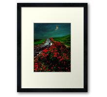 Poppy Picker Framed Print