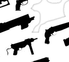 Fallout Guns Sticker