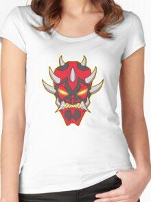 Dark Side Oni Women's Fitted Scoop T-Shirt