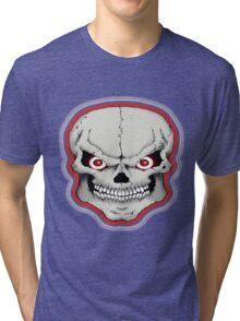 NOVELITY/SKULL Tri-blend T-Shirt