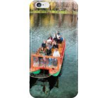 Swan Boats Boston Public Gardens iPhone Case/Skin