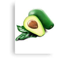 avocado painting  Canvas Print
