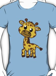 Baby Giraffe Cartoon T-Shirt