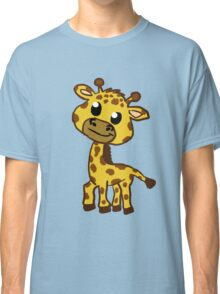 Baby Giraffe Cartoon Classic T-Shirt