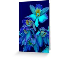 BLUE ORCHID (CARD) Greeting Card