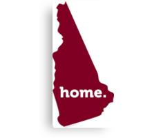 New Hampshire Home Garnet Canvas Print