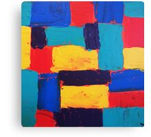 Boxes Of Color Canvas Print
