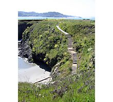 Steps to Marin Headlands Photographic Print
