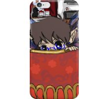 Windy Breakfast Time Visitor iPhone Case/Skin