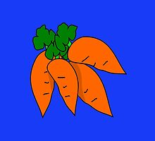 Carrots: good for eyesight by JoAnnFineArt