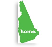 New Hampshire Home Green Canvas Print