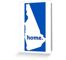 New Hampshire Home  Greeting Card