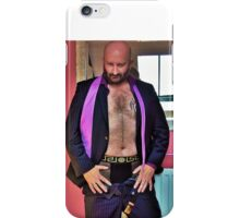 Troy - Feeling Good After Work iPhone Case/Skin