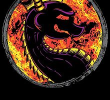 Kombat the Dragon by SaltySteveD