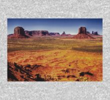 Monument Valley from Artist's Point Kids Clothes