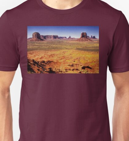 Monument Valley from Artist's Point Unisex T-Shirt