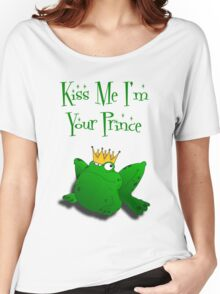 frog prince Women's Relaxed Fit T-Shirt