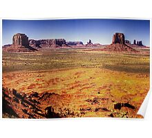 Monument Valley from Artist's Point Poster