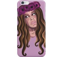 Crown Me in Florals iPhone Case/Skin