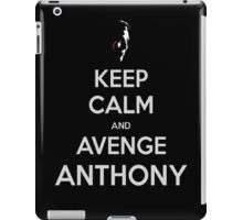 Person of Interest KEEP CALM and AVENGE Anthony (scarface) iPad Case/Skin