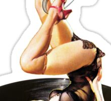 Rockabilly Goddess II Sticker