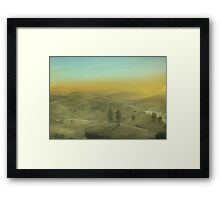 The road to Piata (Only 50!) Framed Print