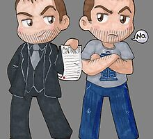 Mark and Crowley by Kosherart