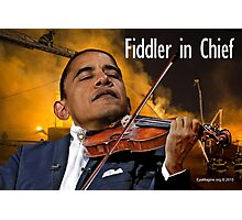 Fiddler in Chief Photographic Print