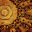 Floral Wood Carving by crossmark