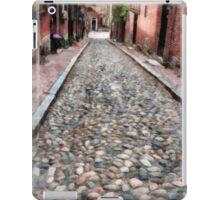 Cobblestone Streets of Boston iPad Case/Skin
