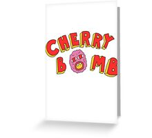 Tyler The Creator - Cherry Bomb (plain) Greeting Card