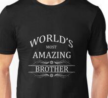 Amazing Brother Unisex T-Shirt