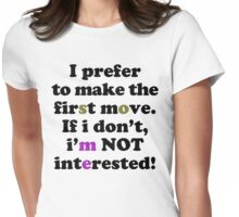 First move Womens Fitted T-Shirt