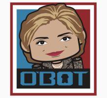 Hillary Politico'bot 3.0 by Carbon-Fibre Media