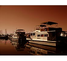The Houseboat Photographic Print