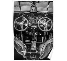 1929 Ford Tri-Motor Cockpit Poster