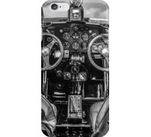 1929 Ford Tri-Motor Cockpit iPhone Case/Skin