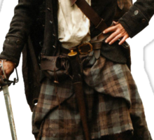 Outlander - Jamie Fraser Sticker