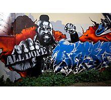 carlton Graffiti Photographic Print