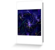 Creation Of The Stars Greeting Card