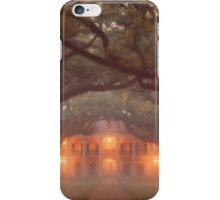 Oak Alley Plantation iPhone Case/Skin