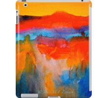 Landscape Abstract...The Niagara Escarpment iPad Case/Skin