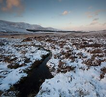 winter by loch muick by codaimages