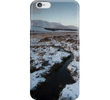 winter by loch muick iPhone Case/Skin
