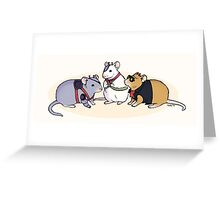 Biker Mice from Mars Greeting Card