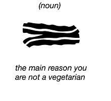 Bacon Funny Shirt Humor Nerdy Novelty by artbyjane